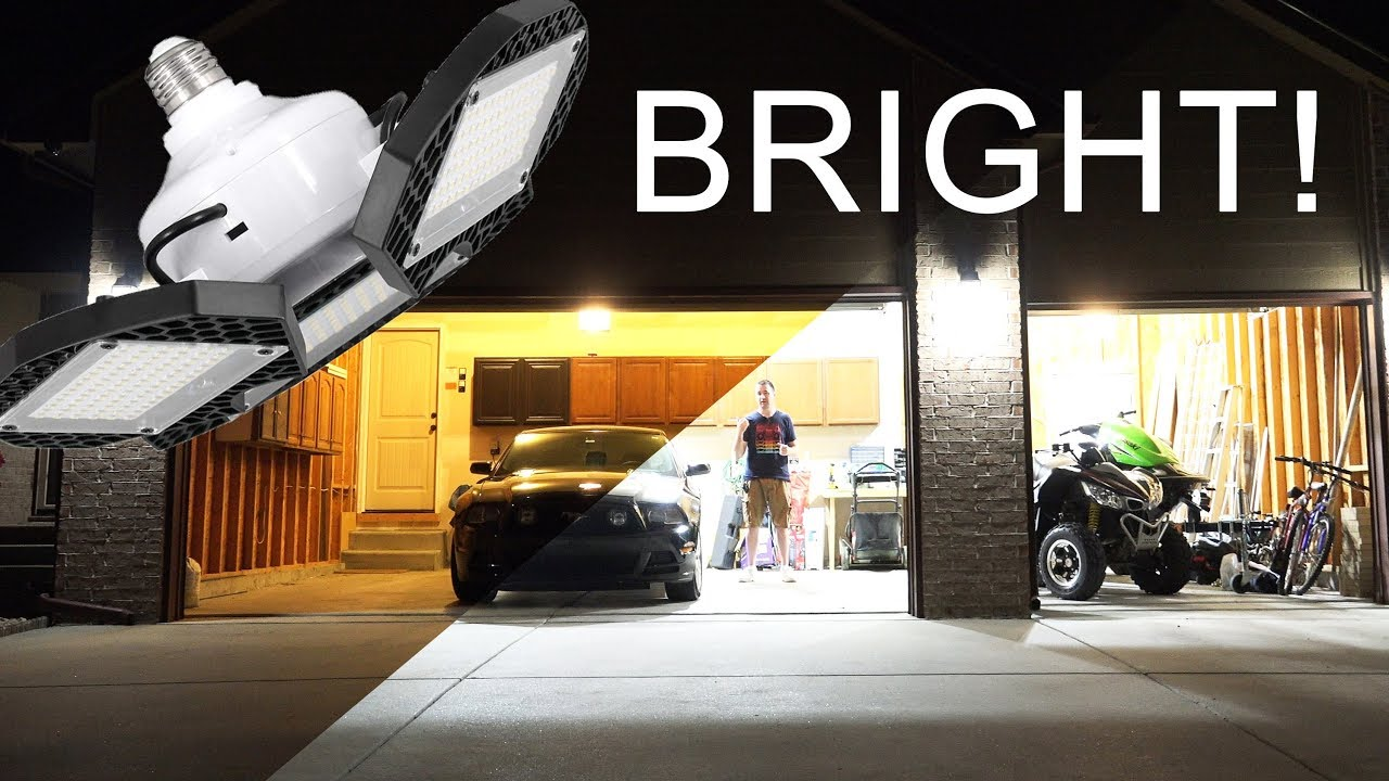 5 Best LED Garage Light In 2020 – Buyer's Guide And Review