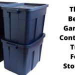 The Best Garage Container Tub For Storage